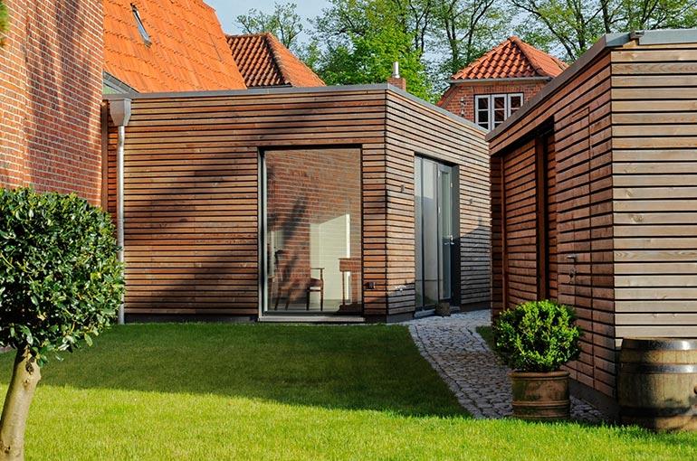 Ber das gartenhaus altstadthaus travem nde - Gartenhaus 40 qm ...